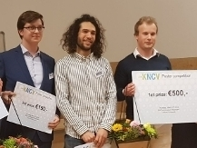 Wowa Stroek with the other winners  Stephan Falcao Ferreira  and Brendan Horst
